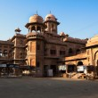 Stock Photo: Old market in Bikaner