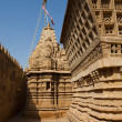 Jain temple of lodruva - Stock Photo