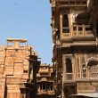 Stock Photo: Haveli of jaisalmer