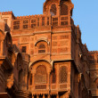 Junagarh Fortin Bikaner - Stock Photo
