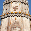 Swastika temple roof Mandawa — Stock Photo