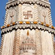 Stock Photo: Swastika temple roof Mandawa