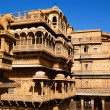 Stock Photo: Raj Mahal royal palace of jaisalmer