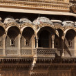 Raj Mahal royal palace of jaisalmer — Stock Photo #9709739