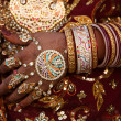 Stock Photo: Wedding couple in jaisalmer