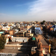 Stock Photo: Aerial view in Bikaner