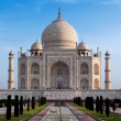 Taj mahal india -  