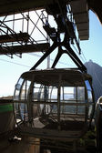 Cable car cabin — Stock Photo