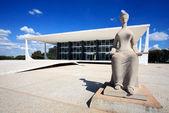 Supreme court of brazil — Stock Photo