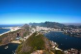 Botafogo and copacabana — Stock Photo