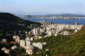 Vista aérea do flamengo, no rio de janeiro brasil — Foto Stock