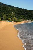 Abraao beach ilha grande — Stock Photo