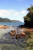 Loagoa azul ilha grande — Stock Photo