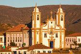 Igreja de nossa senhora do carmo in Ouro Preto — Stock Photo