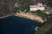 Praia vermelha — Stok fotoğraf