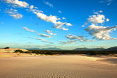Sand dune of cumbuco — Stock Photo