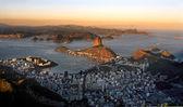 Botafogo and the sugar loaf — Stock Photo
