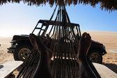 Resting hammock — Stock Photo