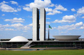 The National Congress of Brazil. — Stock Photo