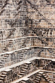 The giant step well of abhaneri — Stock Photo