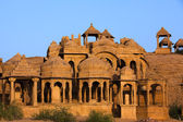 Bada Bagh Cenotaph jaisalmer — Stock Photo