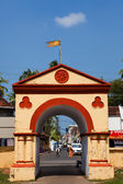 Gate in cochin — Stock Photo