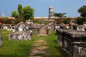 Cemitério holandês de cochin — Fotografia Stock