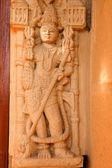 Jain temple of amar sagar — Stock Photo
