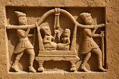 Jain temple of lodruva — Stock Photo