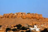 Jaisalmer stad fort — Stockfoto