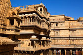 Palácio real de raj mahal de jaisalmer — Foto Stock
