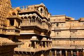 Raj mahal королевский дворец джайсалмер — Стоковое фото