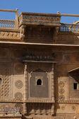 Raj Mahal royal palace of jaisalmer — Stock Photo