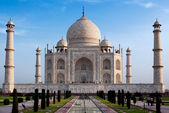 Taj mahal india — Stock Photo