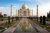 Taj mahal india — Stock Photo