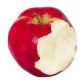 The bitten apple — Stock Photo