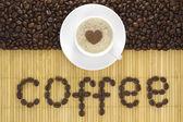 Warme kop koffie — Stockfoto
