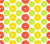 Pattern from fruit — Stock Photo