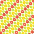 Pattern from fruit — Stockfoto