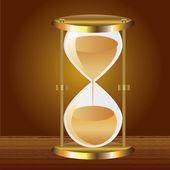 Hourglass. — Stock Vector