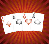 Playing Cards. — 图库照片