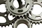 Different gear close-up — Stock Photo