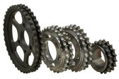 Gears of different types — Stock Photo