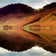 Buttermere reflections — Stock Photo