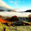 Clouds over Derwent Water — Stock Photo