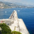 Monaco and the harbour — Stock Photo