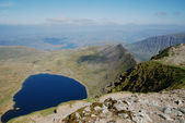 Red Tarn from Helvellyn — Stock Photo