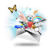 Email Internet Communication — Stock Photo