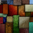 Earth Tone Texture Square Patterns — Stock Photo
