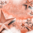 Pink Star Love Background — Stockfoto